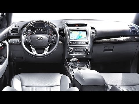 Kia - 2015 Kia Sorento Interior - YouTube