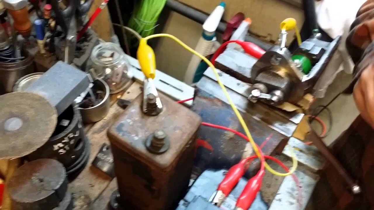 JohnDeere Engine / type e / ignitor / low tension coil test /sparks