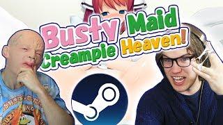 Busty Maid: Creampᶖe Heaven! - (Down The Steamhole)