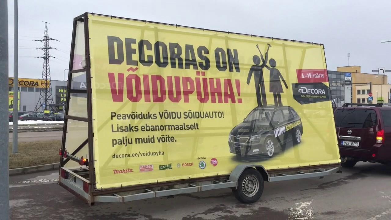 Decora Decoras On Voidupuha Liikuv Reklaamtreiler Youtube