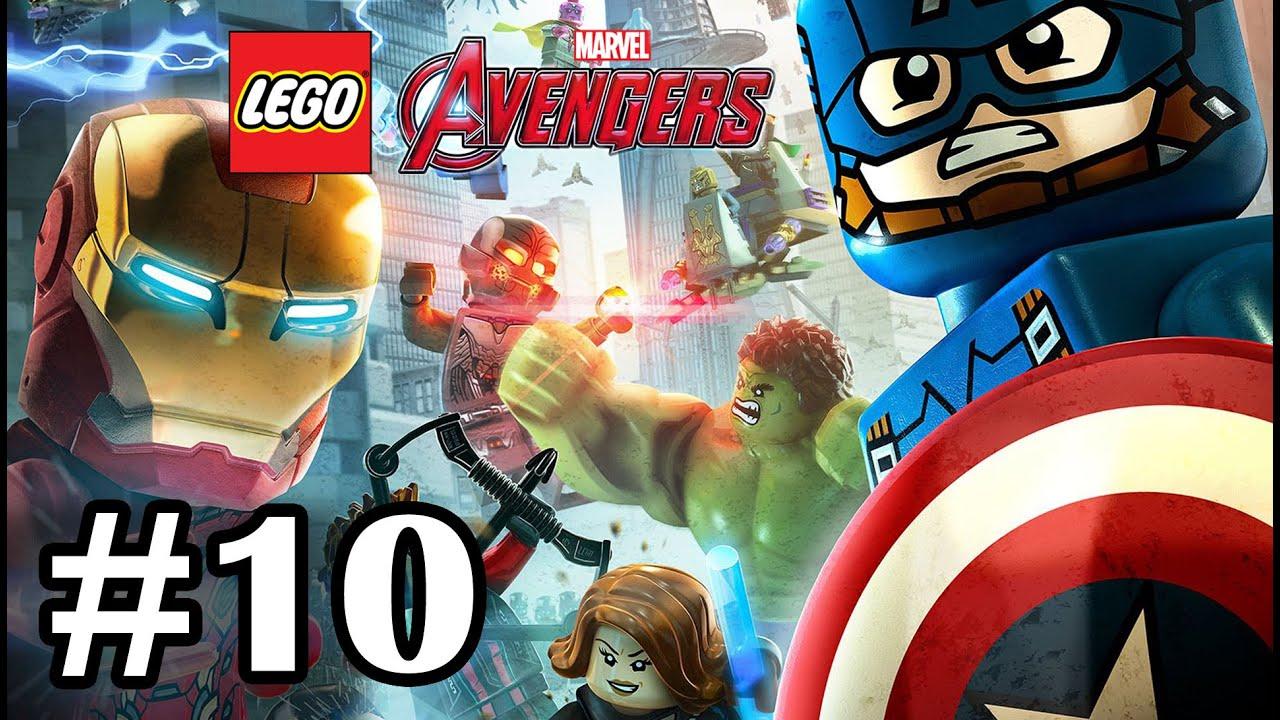 LEGO MARVEL'S AVENGERS - Part 10 - Korea Prospects Scarlet ...
