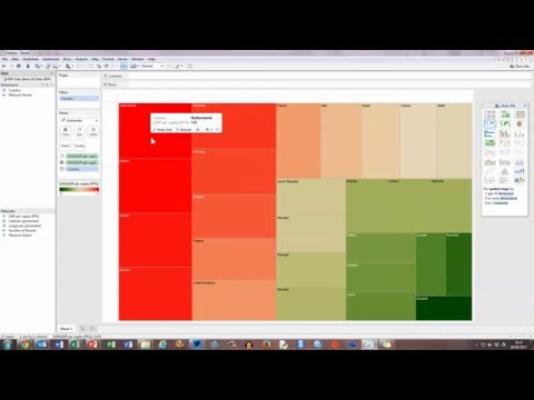 How To... Create a Basic Tree Map in Tableau