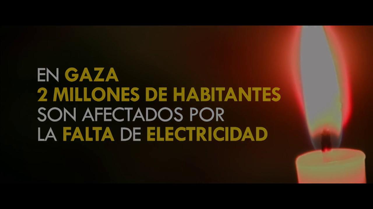 La falta de electricidad en Gaza