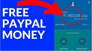 Earn FREE PayPal Money NOW! ($500 in 5 Mins)