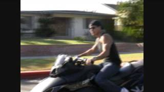 Mario Lopez with his new bike a Can-Am Spyder Roadster Part 1 - 041809 - PapaBrazzi Report