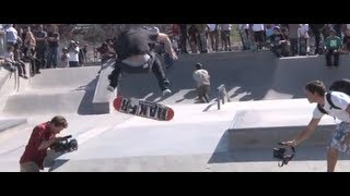 Professional Skate Demo at Pedlow Skate Park in Ca. May 4, 2012