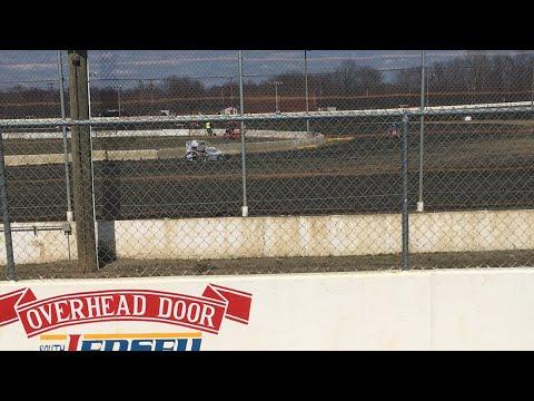 Bridgeport speedway practice 1/4 mile