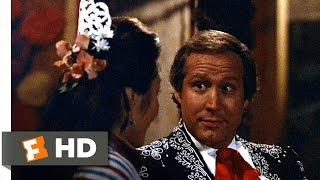 Three Amigos (6/12) Movie CLIP - Kiss on the Veranda (1986) HD