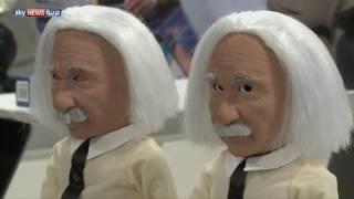 الروبوت أينشتاين.. نجم معرض لاس فيغاس