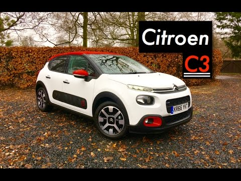 2017 Citroen C3 Review - Inside Lane