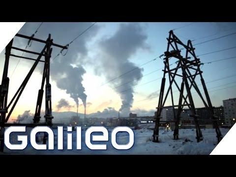 Norilsk: Die schmutzigste Stadt Russlands | Galileo | ProSieben