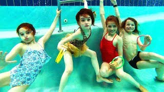 Gambar cover POOL PARTY GAMES (extreme kids edition) with The Norris Nuts