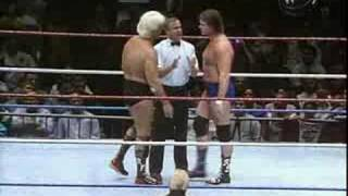 MSG 10/28/91 Ric Flair Vs Roddy Piper Part 1