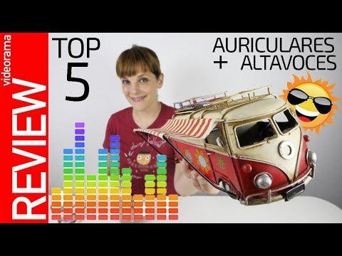 TOP 5 auriculares y altavoces -MUSICA para todos-