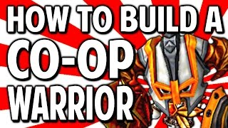 HOW TO BUILD A CO-OP WARRIOR - Happy Wars Tips