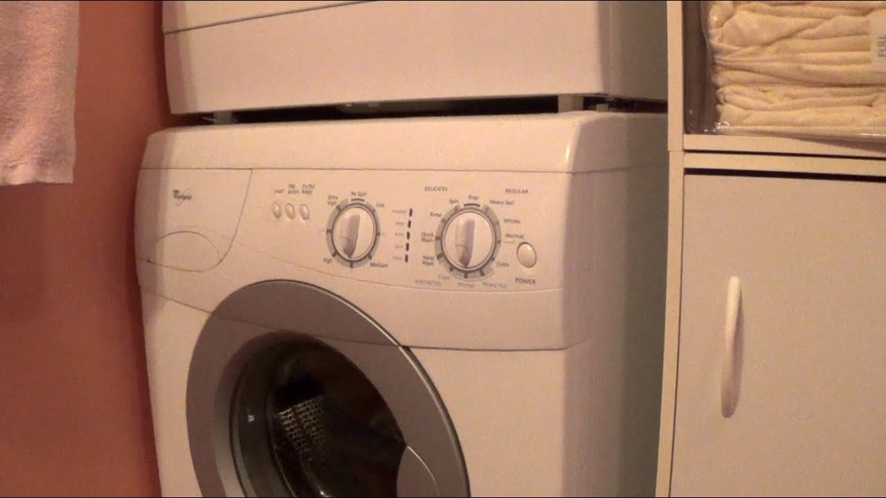 How to Clean out a Whirlpool Front-Loading Washer Lint Filter - YouTube