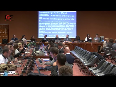 IGF 2017 - day 2 - WK XXI - WS76 -  Multistakeholder governance of the Domain Name System
