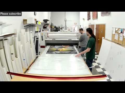 How It's Made - Big Ass Photographic Prints