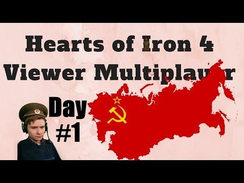 HoI4 - Multiplayer - Soviet Da9L - Day 1 of 3