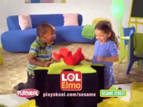 Hasbro Playskool Sesame Street Lol Elmo Youtube
