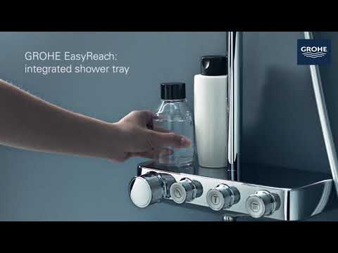 GROHE EUPHORIA & GROHTHERM SMARTCONTROL: POWERFUL, INDULGENT SHOWERING, TOTALLY CONTROLLED BY YOU