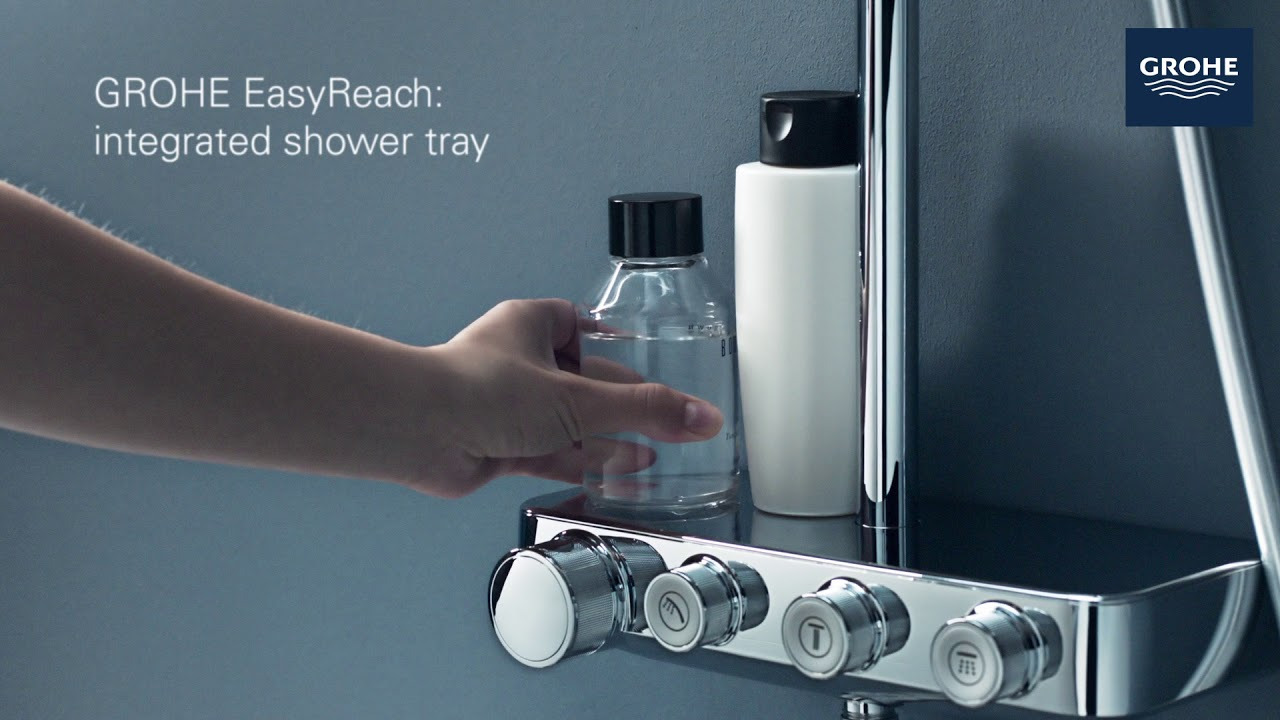 Grohe Duschsystem Euphoria Grohe Euphoria Grohtherm Smartcontrol Powerful Indulgent Showering Totally Controlled By You