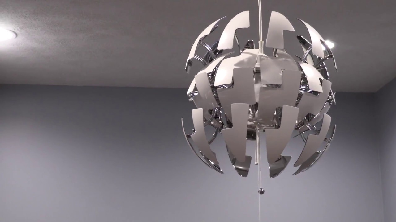 Lampadario Ikea Ps 2019.Ikea Death Star Ps 2014 Light Youtube