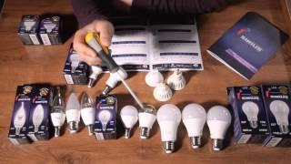 видео Какие точечные светильники лучше выбрать на натяжной потолок: классификация