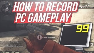 HOW TO RECORD PC GAMEPLAY WITHOUT DROPPING FRAMES! NO QUALITY LOSS!