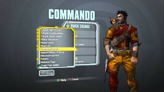 Borderlands 2 - Commando Domination Pack (Headbanger head and Crash Test Soldier skin)