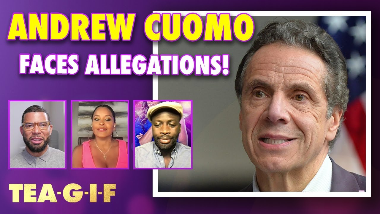 Will Andrew Cuomo Resign After new Allegations!?   Tea-G-I-F