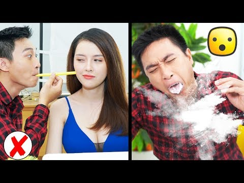 Girl DIY! 18 Funny DIY Couple Pranks / Prank Wars by T-STUDIO