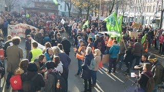 Klimastreik in Witten - Fridays for Future am 29.11.2019 in Witten