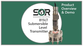 815LT Submersible Level Transmitter - Product Overview & Demo