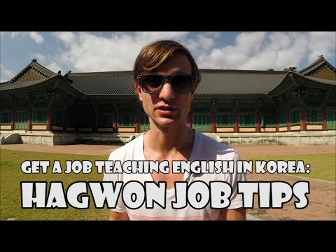 3 Tips For Getting A Hagwon Job in Korea