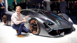 One of Shmee150's most viewed videos: Meet the ELECTRIC Lamborghini Terzo Millennio!