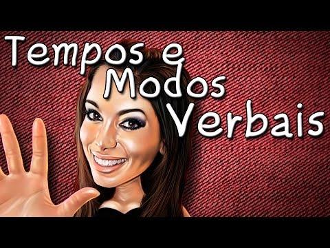 Tempos e Modos Verbais Aula de Português - Gramática para Concurso Vestibular e Enem