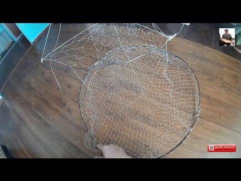 Как сделать ахан для ловли рыбы видео