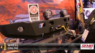 tjm bumpers and winches at sema 2013