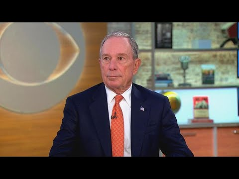 "Michael Bloomberg says he hopes Trump will ""change his mind"" on climate change"