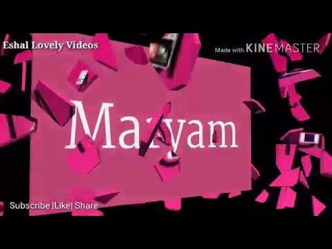 Maryam Name Beautiful WhatsApp status