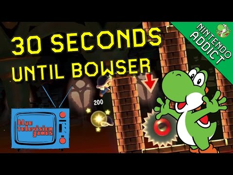 30 Seconds Until Bowser | Blue Television Games | Super Mario ...