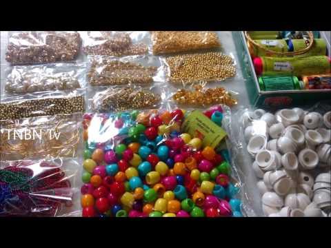 11) Silk Thread Jewellery Making Kit Wholesale