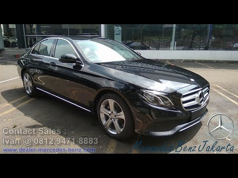 Mercedes Benz E Class E250 Avantgarde 2018 Exterior / Interior