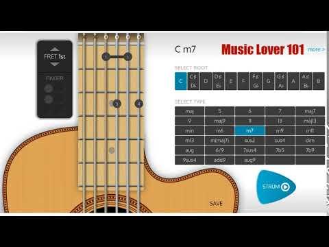 Cm7 Chord Guitar Youtube