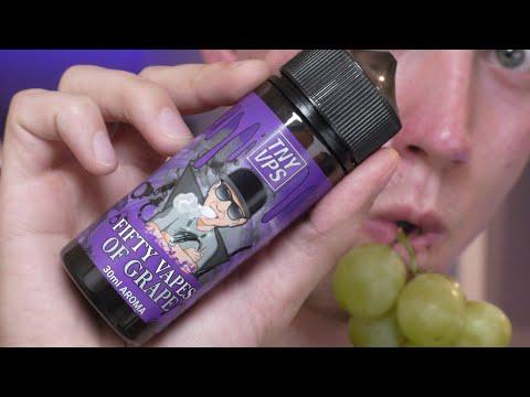 Tony Vapes Aroma - Fifty Vapes of Grape 30ml Longfill