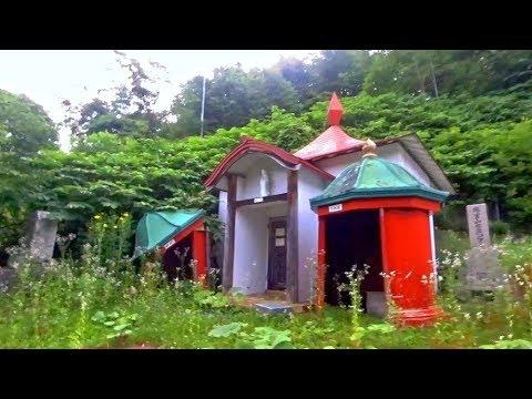日本北海道夕張山坡上廢棄寺廟落難神明 Yubari, Hokkaido Japan