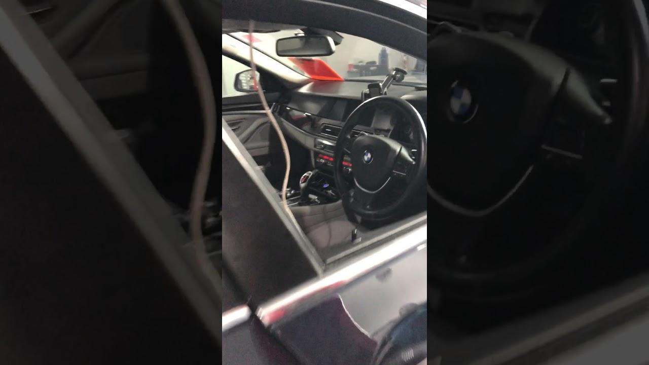 BMW F10 523i engine and transmission software upgrade