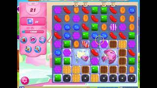 Candy Crush Level 505 Audio Talkthrough, 1 Star 0 Boosters