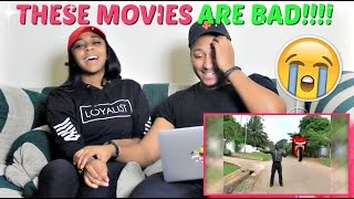 HILARIOUS AFRICAN MOVIE SCENES COMPILATION By ObeseFailTV REACTION!!!